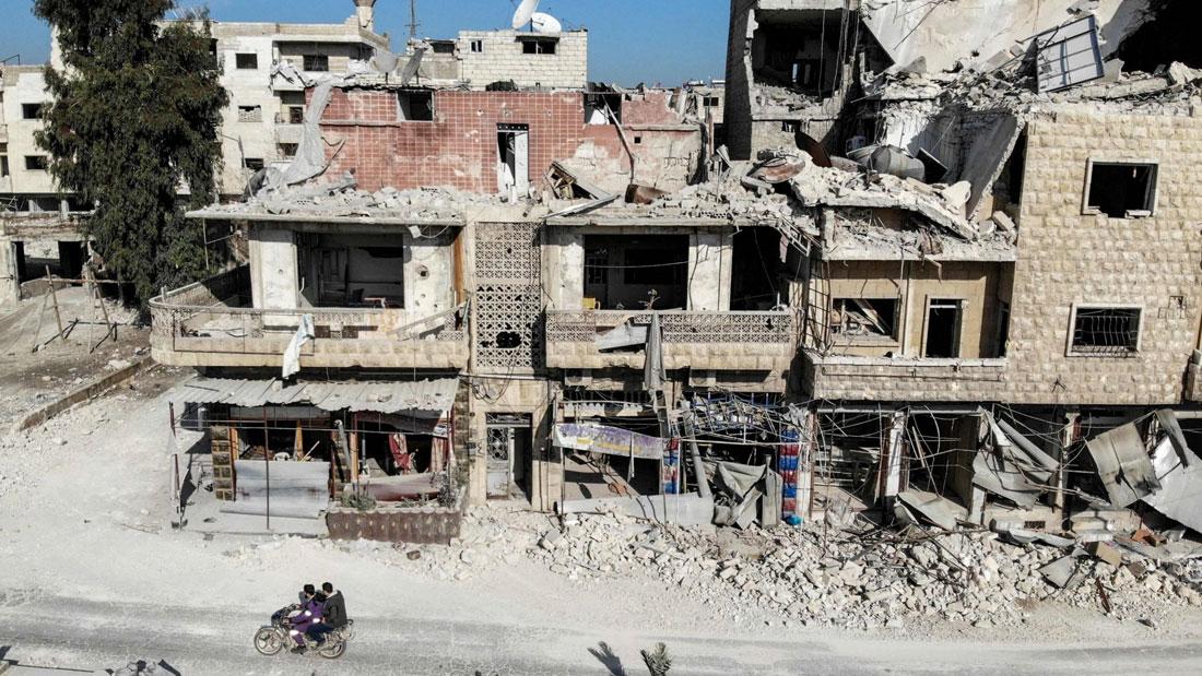 İdlib'de Son 24 Saatte 5 bin 800 Sivil Yerinden Edildi