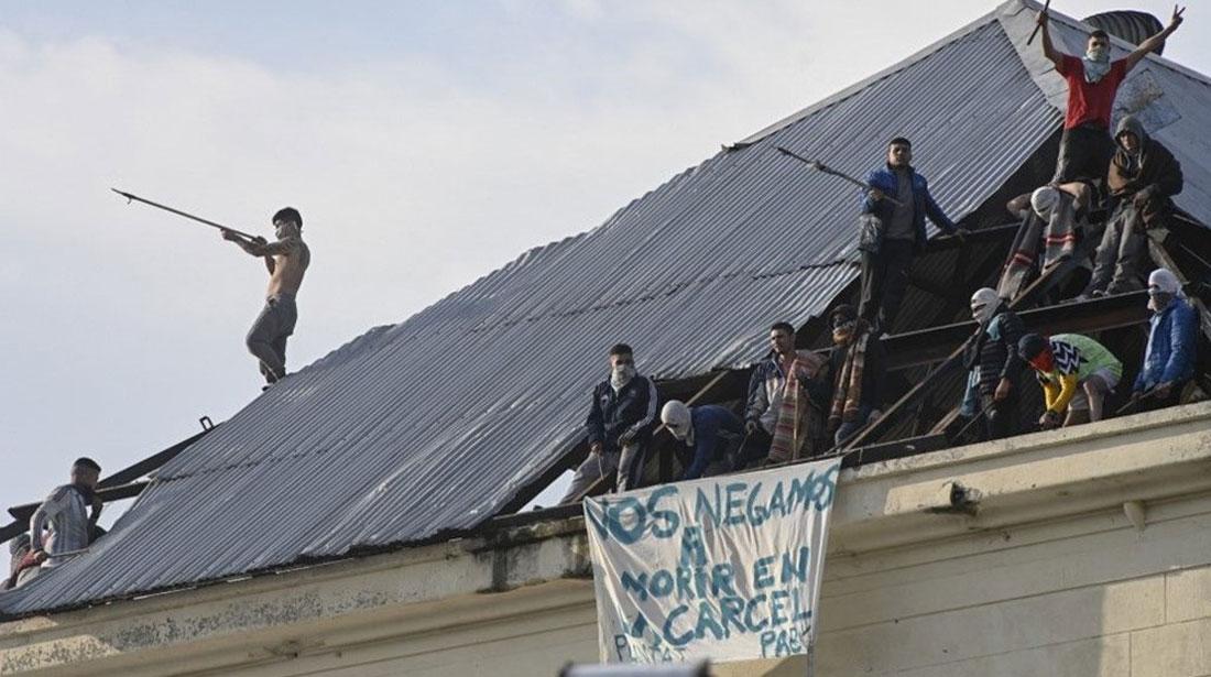 Arjantin'de Mahkumlar Ayaklandı