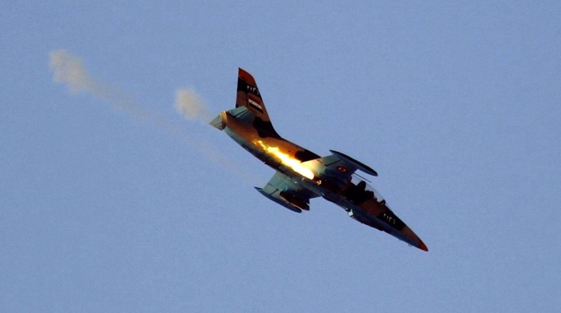 Esed Rejimine Ait Uçak Düşürüldü