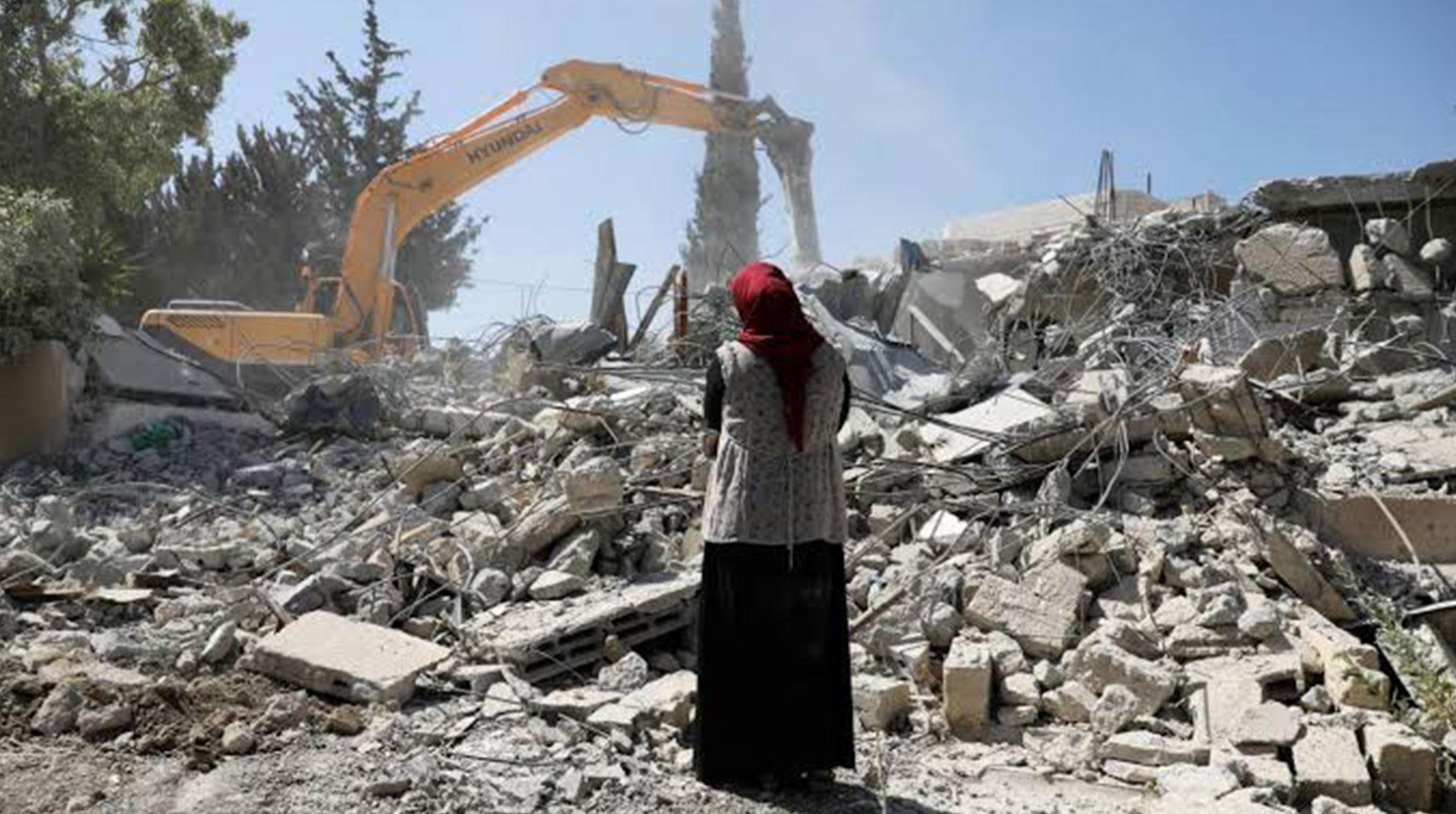 İşgal Yönetimi Kudüs'te Filistinlilere Ait 4 Evi Yıktı