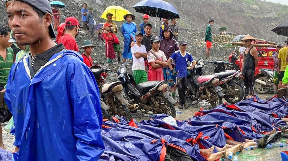 Myanmar'da Maden Göçtü! Hayatını Kaybeden İşçi Sayısı 160'ı Geçti
