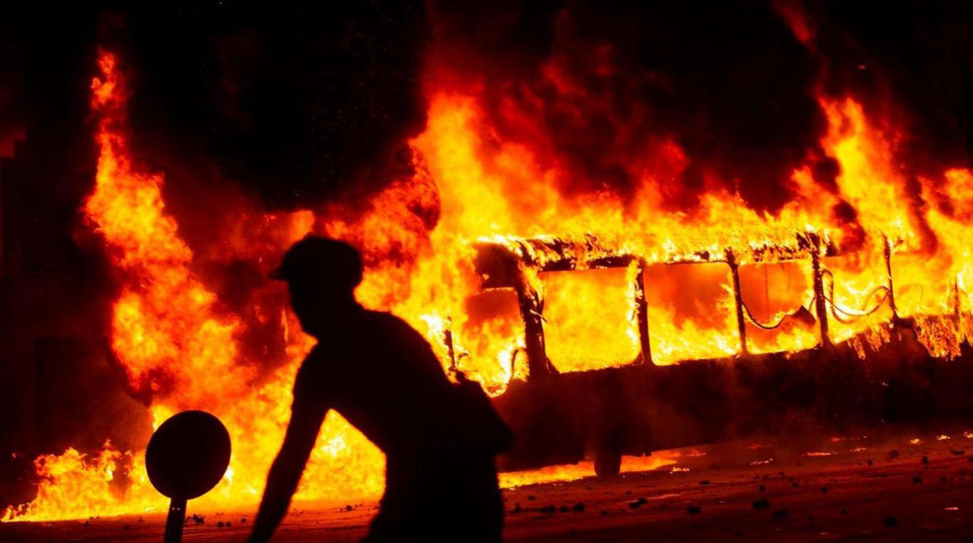 Şili'deki Durulmayan Hükümet Karşıtı Protestolar 18. Gününde