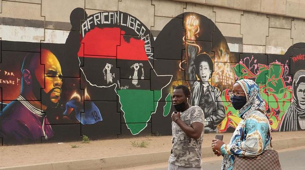Senegal'de Irkçılık Karşıtlığı Duvarlara Grafiti Olarak Yansıyor