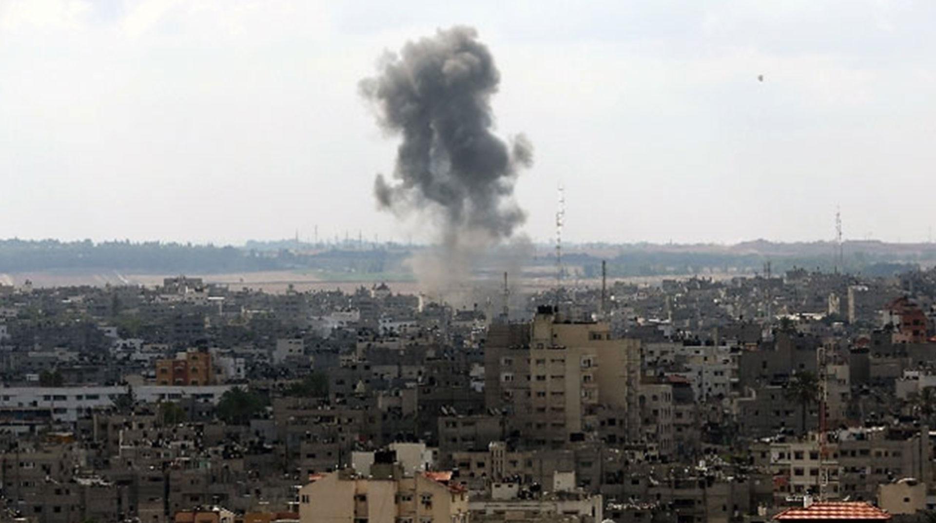 İşgal Güçleri Yeniden Gazze'yi Vurmaya Başladı