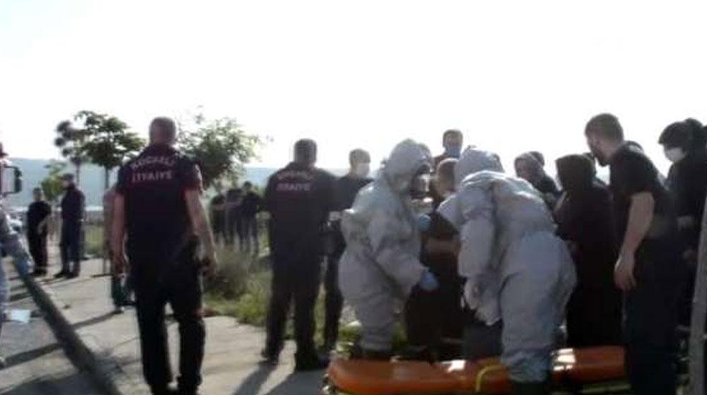 Kocaeli'de Kimyasal Kaza! 3 Yaralı