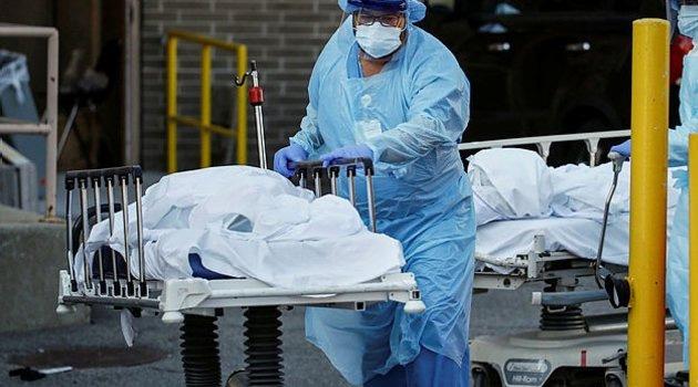 ABD'de son 24 saatte bin 890 kişi daha öldü