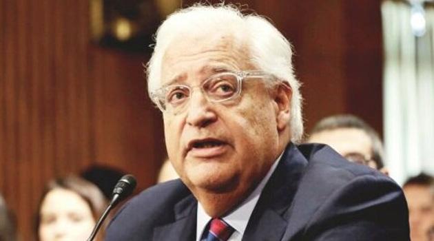 ABD'nin İsrail Büyükelçisi Friedman'dan işgal açıklaması