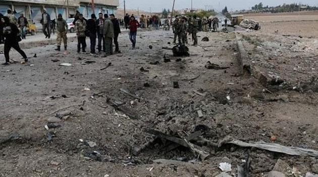 Tel Abyad'da, bombalı araçlı saldırı: 6 yaralı