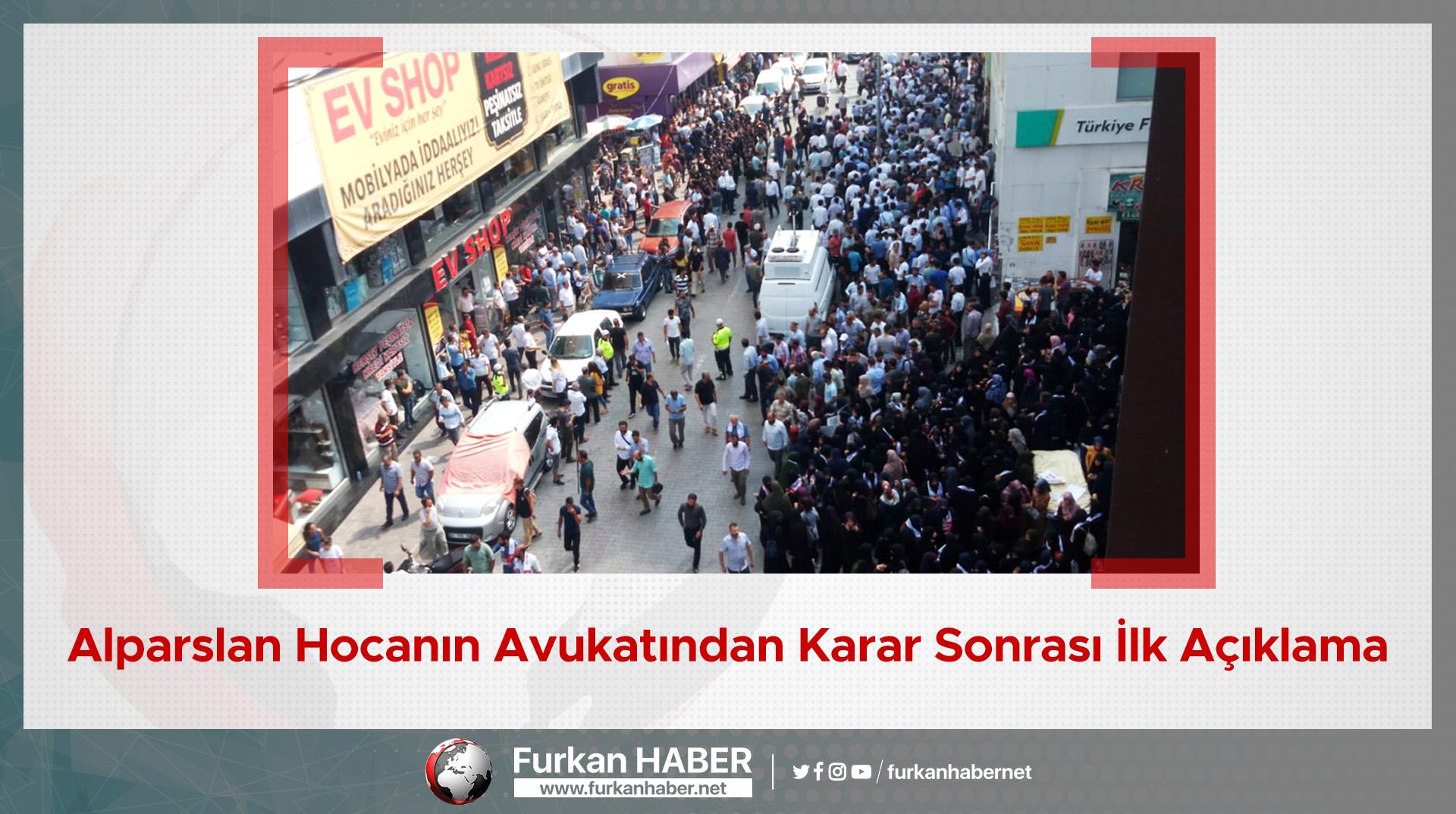 Alparslan Hocanın Avukatından Karar Sonrası İlk Açıklama