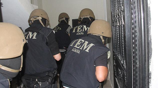 Adana'da şafak operasyonu: 10 gözaltı