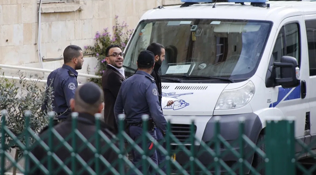 İşgalci İsrail polisi Kudüs Valisi Gays'ı gözaltına aldı