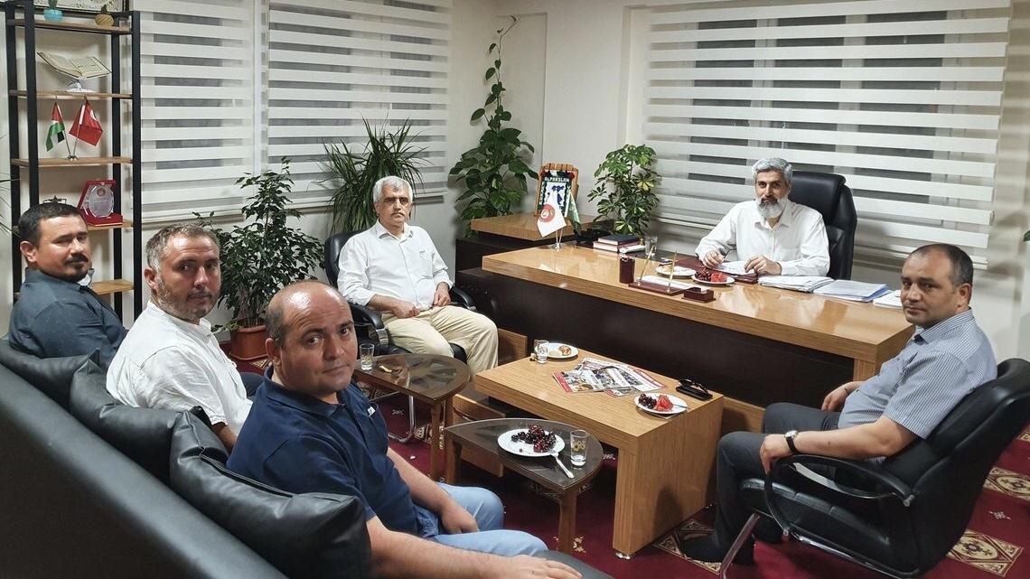 Gergerlioğlu, Levent Mazılıgüney ve Gökhan Özbek'ten Alparslan Hoca'ya Ziyaret