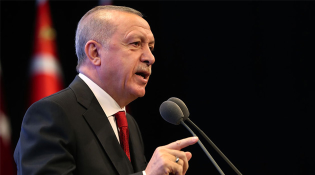 Erdoğan: Türkiye'de FETÖ'nün büyümesinde herkesin payı olabilir ama ona savaş açan şahsım ve AK Parti'dir