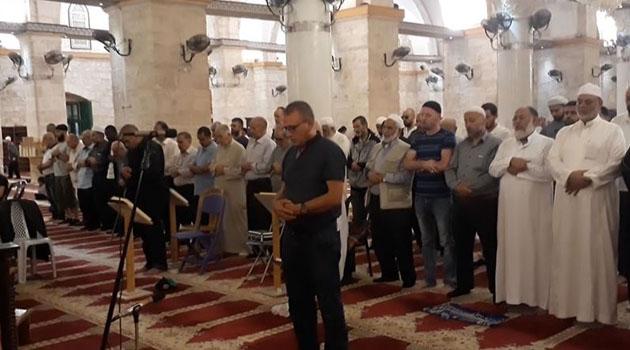 Nuri Pakdil için Mescid-i Aksa'da gıyabi cenaze namazı kılındı