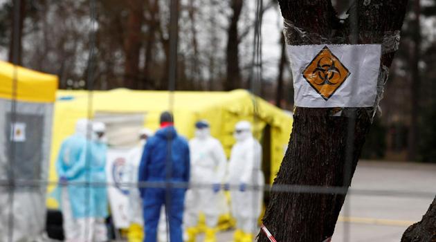 Almanya'daki koronavirüs vakaları 10 bini aştı