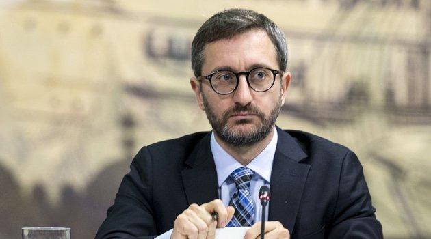 İletişim Başkanı Altun, toplanan bağış miktarını açıkladı