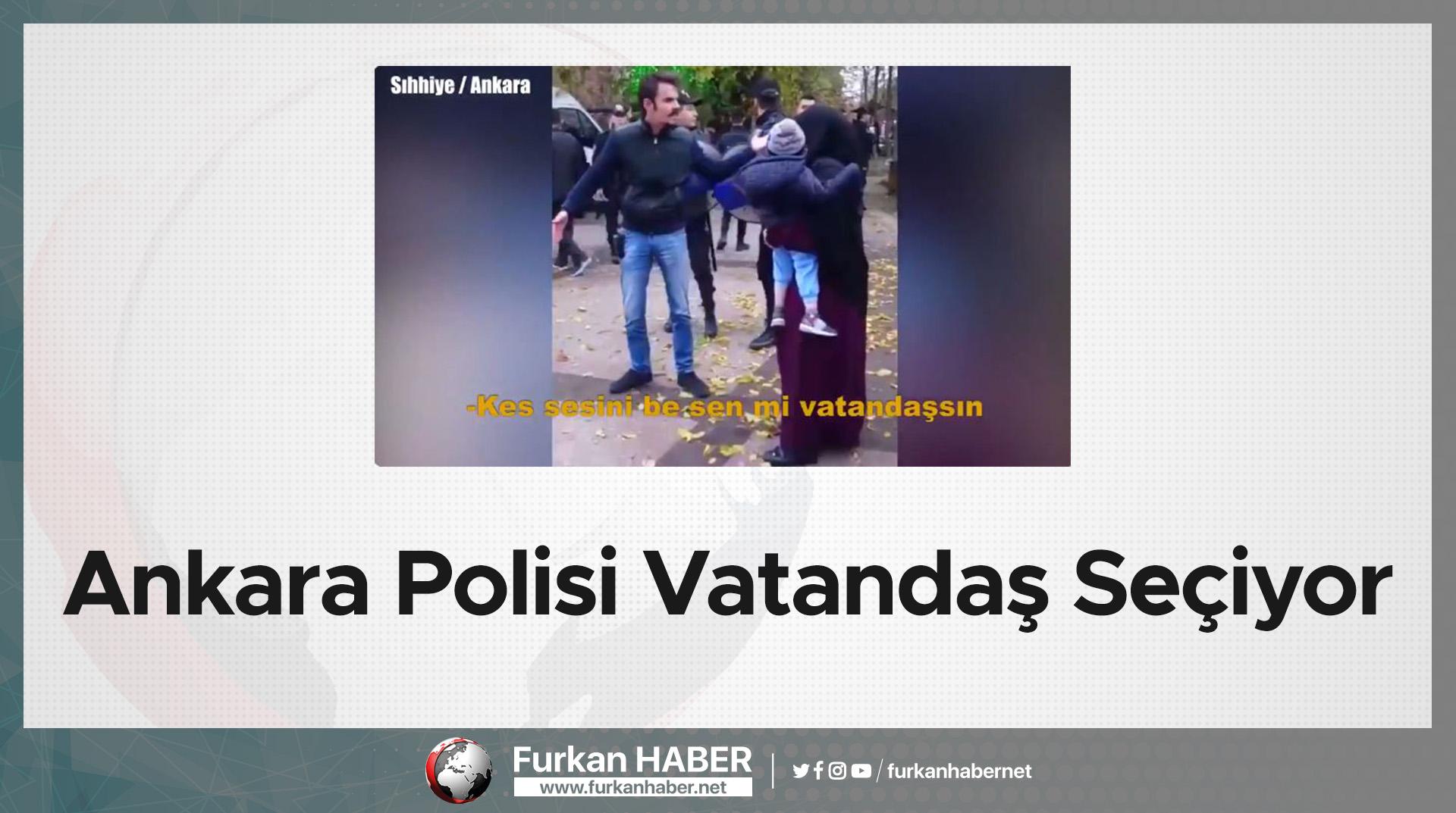 Ankara Polisi Vatandaş Seçiyor