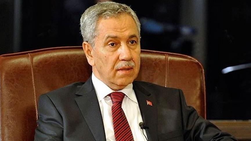 Arınç'tan Davutoğlu'na: AK Parti'ye rakip olması uygun değil