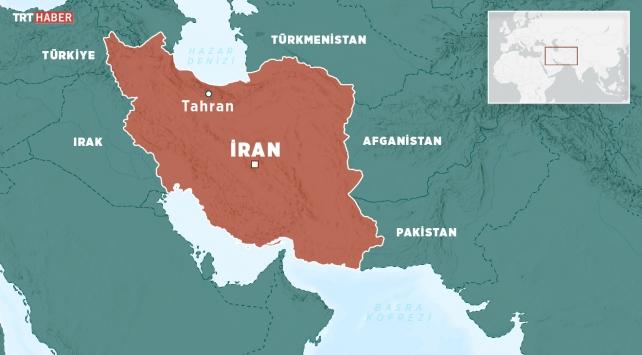 İran'ın Batısında Patlama