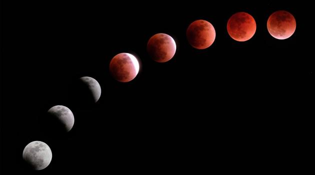 Bu gece Türkiye'den de izlenebilecek Kısmi Ay tutulması yaşanacak