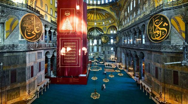 Ayasofya bugün kılınacak cuma namazıyla 86 yıl sonra yeniden ibadete açılıyor