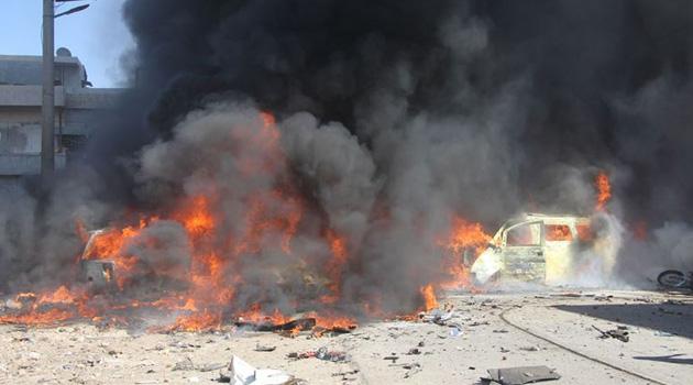 Azez'de bombalı saldırı: 7 ölü 15 yaralı
