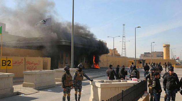 ABD Büyükelçiliğinde patlama