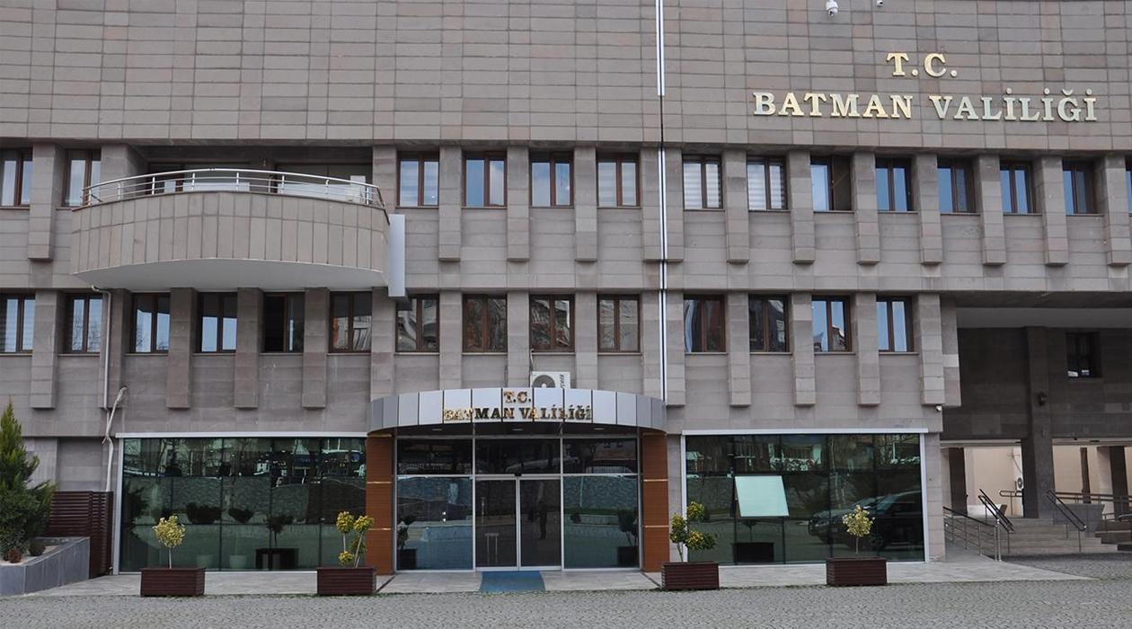 Batman Valiliği: Eylem için şehre giriş çıkışlar yasaklanmıştır