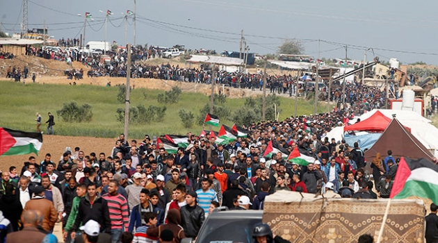 Gazze'deki Büyük Dönüş Yürüyüşü gösterilerine 3 ay ara veriliyor