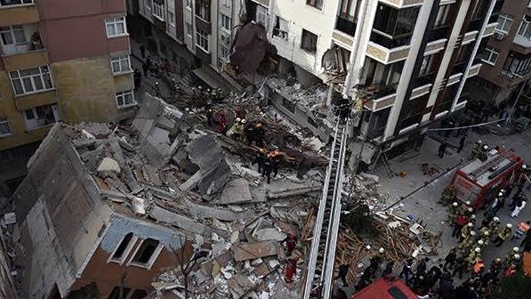 Bahçelievler'deki binanın çökme nedeni belli oldu
