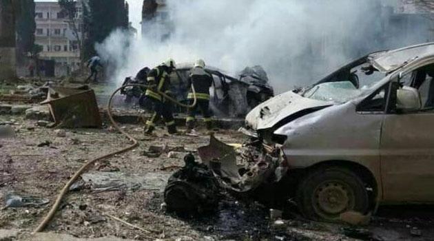 Çobanbey'de bombalı saldırı, en az 2 kişi öldü