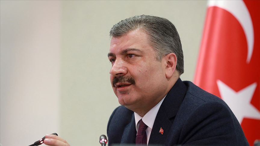 Sağlık Bakanı Koca koronavirüsle ilgili açıklama yapıyor