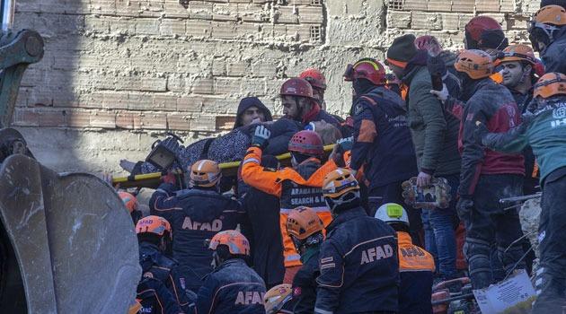 Elazığ'daki depremde hayatını kaybedenlerin sayısı 35'e çıktı