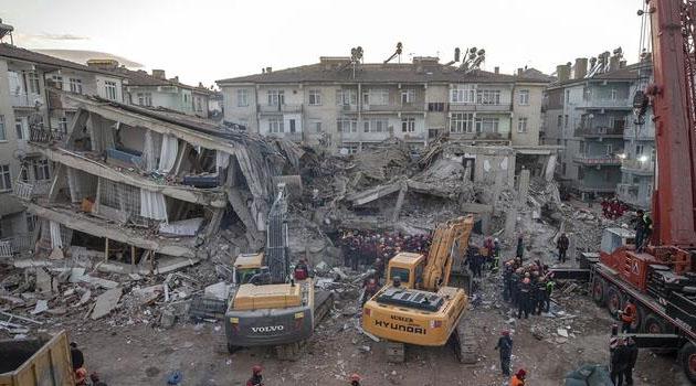 Elazığ'da 41 kişinin yaşamını yitirdiği depremin raporu yayımlandı