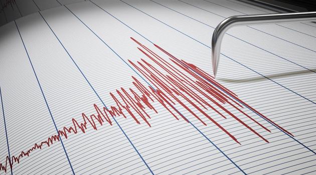 Marmaris açıklarında 4,4 büyüklüğünde deprem
