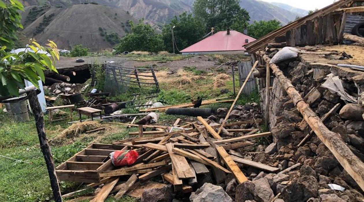 Bingöl depreminde 151 yapı yıkıldı, 3 bin 832 yapı hasar gördü