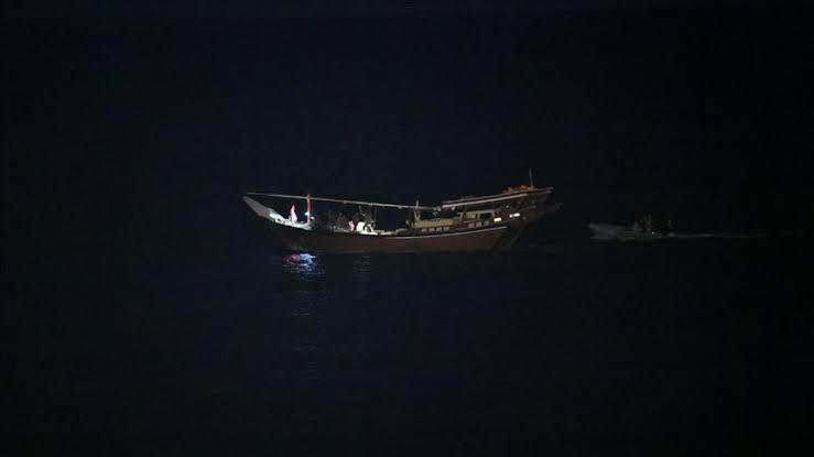 ABD: İran teknesine el konuldu