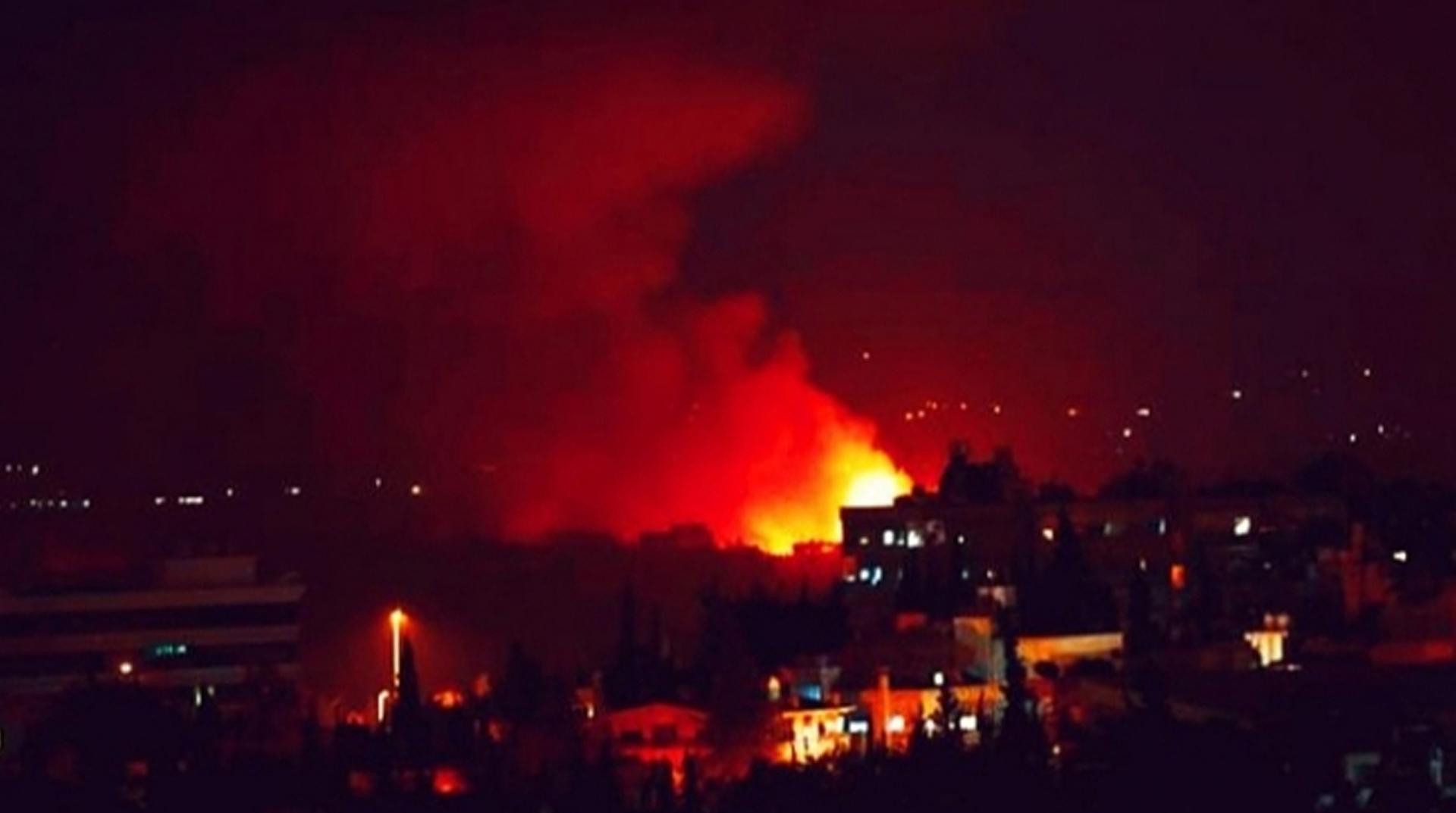 İsrail'den Şam'da İran hedeflerine hava saldırısı