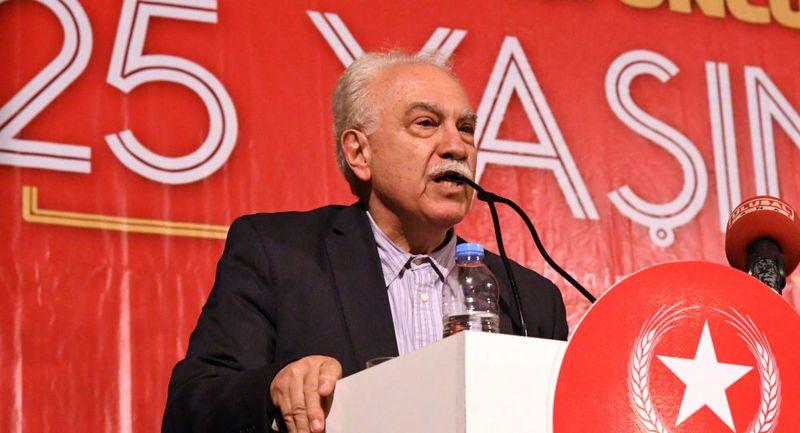 Doğu Perinçek: FETÖ'nün siyasi ayağı Gül, Davutoğlu ve Babacan'dır