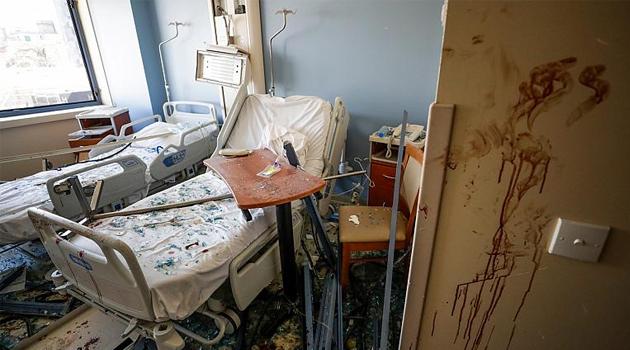DSÖ: Beyrut'ta sağlık merkezlerinin yarısından fazlası işlevsiz kaldı