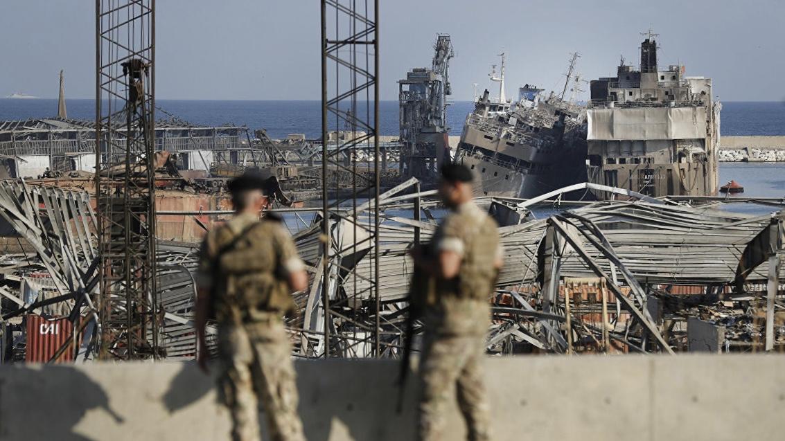 Beyrut Limanı'nda meydana gelen patlamayla ilgili 16 kişi tutuklandı