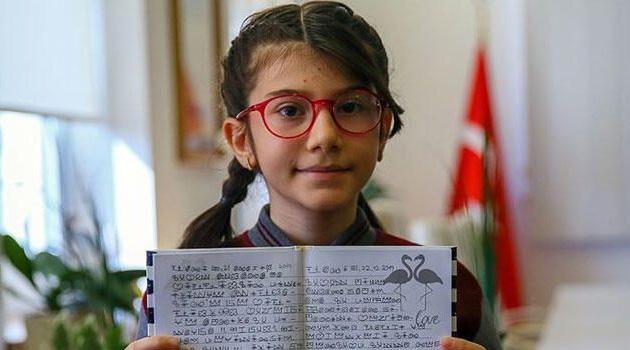 İzmirli Elanur Akıncı matematikte dünya birincisi