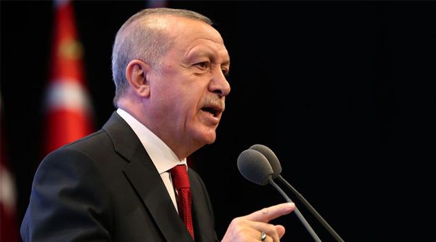 Erdoğan: İnsanı öncelemeyen, dört bir yanında sanat ocakları tütmeyen bir şehrin aklı da olmaz