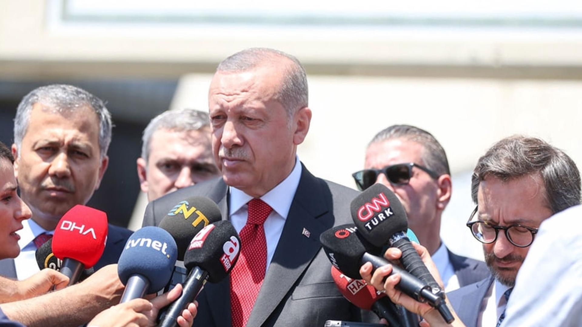 ABD ile varılan anlaşma sonrası Erdoğan'dan ilk açıklama