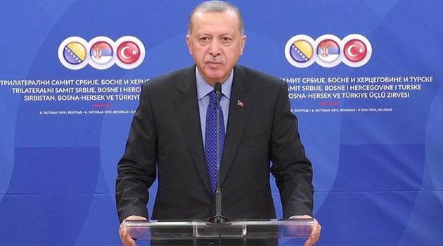 Erdoğan: Yol hayattır, yol medeniyettir