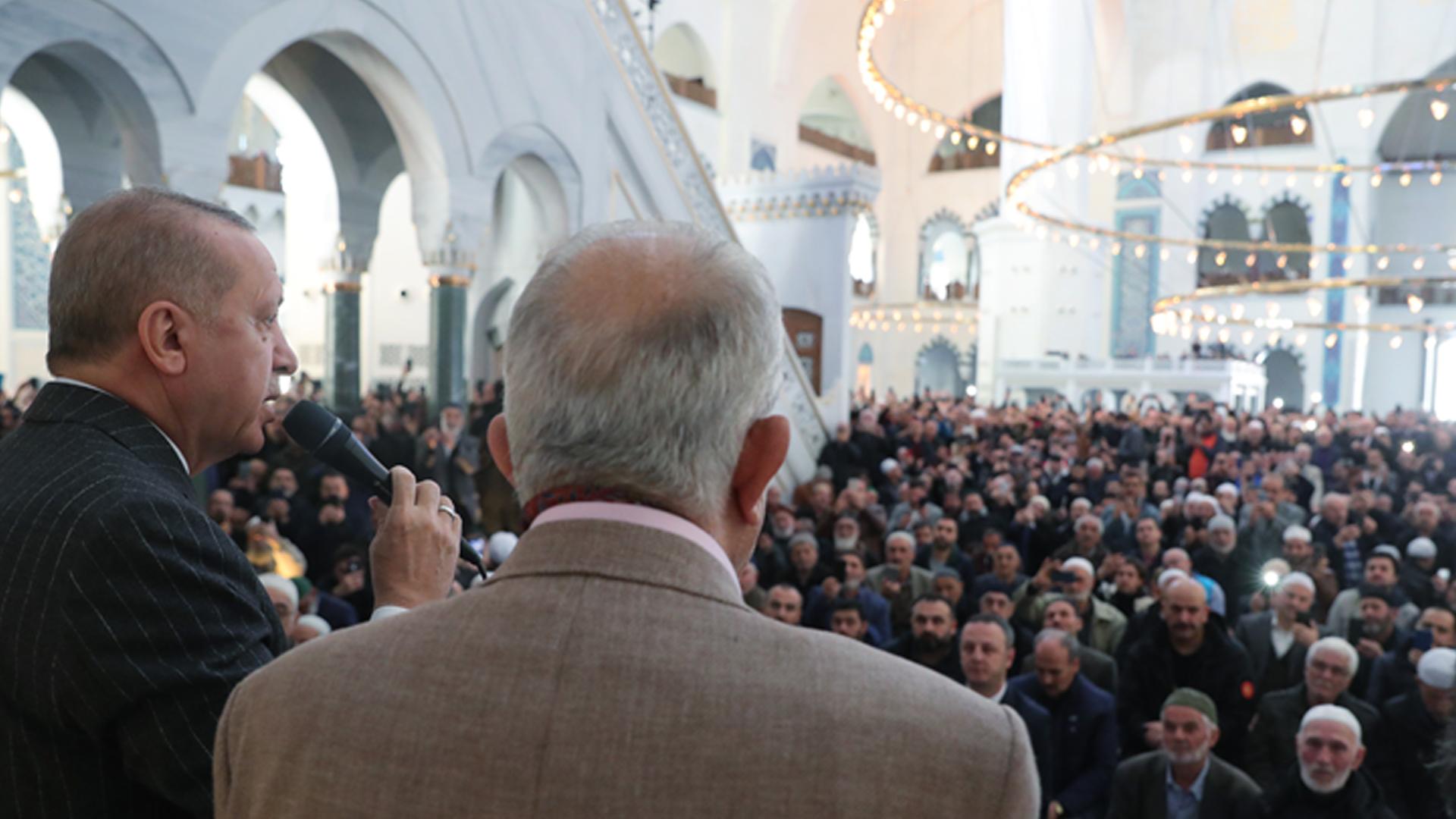 Cumhurbaşkanı Erdoğan: Müslüman'ın Müslüman ile savaşı durdu
