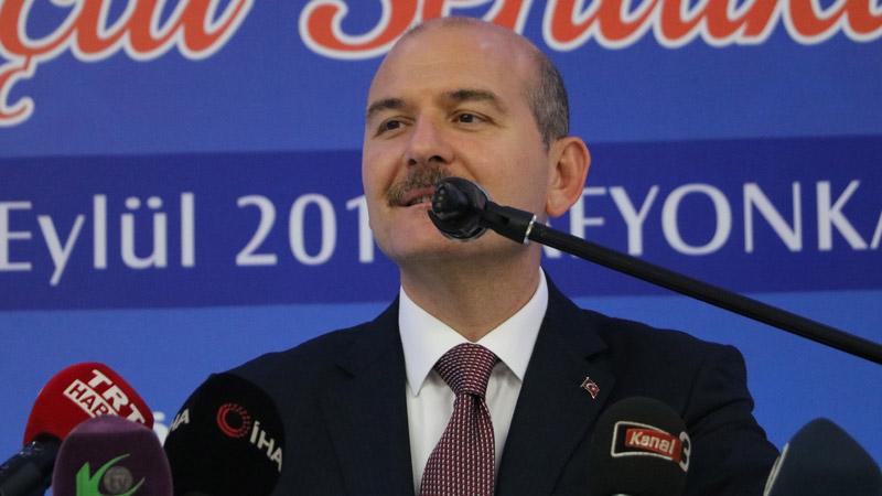 Soylu: Amerika, Ankara'da LGBT'ye 22 milyon dolar yardım yapıyor