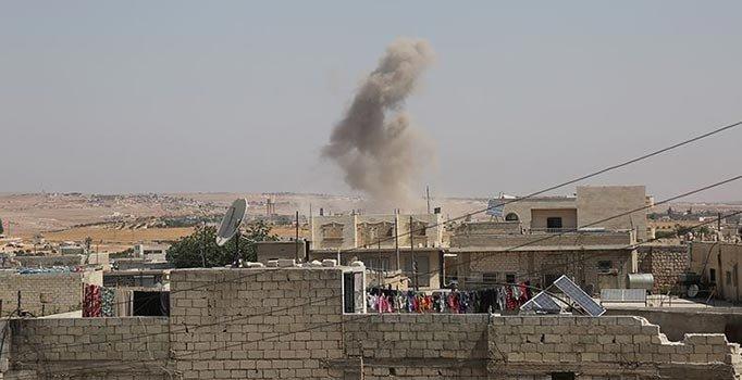 Esed rejimi saldırmaya devam ediyor