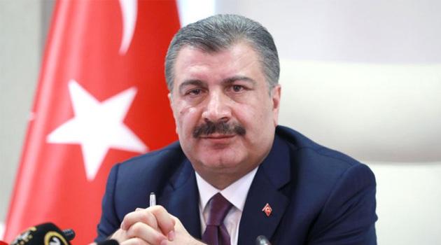 Türkiye'de son 24 saatte koronavirüsten 57 ölüm