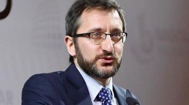 İletişim Başkanı Altun: Kovid-19 ile mücadelede NATO müttefikimiz ABD ile de dayanışma içindeyiz